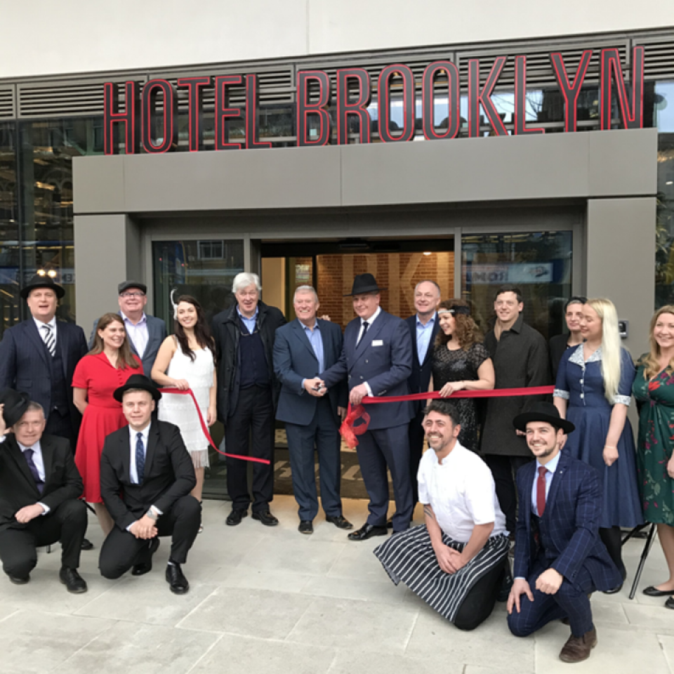 Hotel Brooklyn, sister to luxurious Hotel Gotham, opens !!