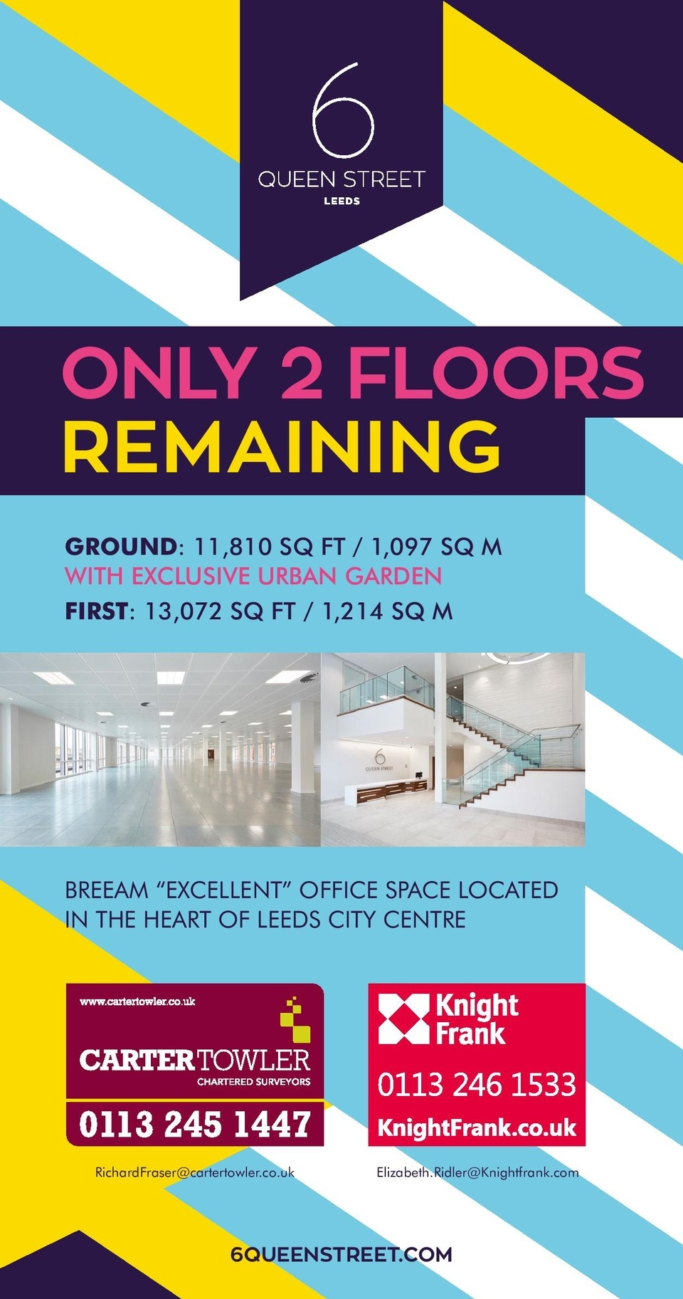 6 Queen Street - Largest office letting deal in Leeds this year at new flagship development